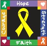 Ewing Sarcoma Courage Hope Shirts