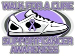 General Cancer Walk For A Cure Shirts