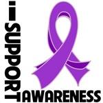 Fibromyalgia I Support Awareness Shirts