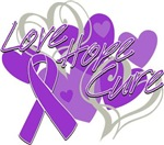 Fibromyalgia Love Hope Cure Shirts