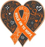 Multiple Sclerosis Hold on to Hope Shirts