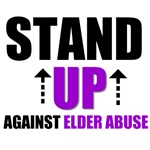 Stand Up Against Elder Abuse T-Shirts