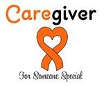 Caregiver Orange Ribbon T-Shirts & Gifts