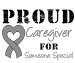 Proud Caregiver Brain Cancer T-Shirts & Gifts
