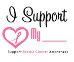 I Support Breast Cancer Awareness T-Shirts & Gifts