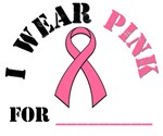 I Wear Pink Breast Cancer T-Shirts & Gifts