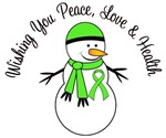 Christmas Snowman Lymphoma Cards & Gifts