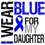 I Wear Blue Colon Cancer Daughter Shirts & Gifts
