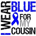 I Wear Blue Colon Cancer Cousin Shirts & Gifts