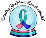Christmas Snowglobe Thyroid Cancer Gifts