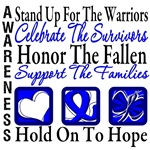 Stand Up Celebrate Honor Colon Cancer Shirts