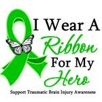 TBI I Wear A Ribbon Hero