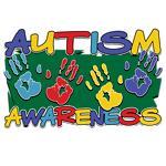 Autism Awareness Handprints