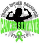 Lymphoma Cancer Tough Survivor Shirts