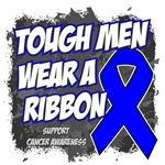 Colon Cancer Tough Men Wear A Ribbon Shirts