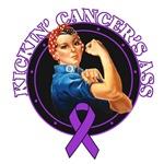 Kickin' Leiomyosarcoma Cancer's Ass Shirts