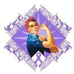 Hodgkins Lymphoma Rosie Fighter