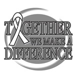 Lung Cancer Together We Make A Difference Shirts