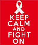 Mesothelioma Keep Calm Fight On Shirts