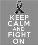 Skin Cancer Keep Calm Fight On Shirts