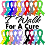 Cancer I Walk For A Cure Shirts and Gear