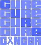 CURE Stomach Cancer Collage Shirts