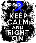 Rectal Cancer Keep Calm and Fight On Shirts
