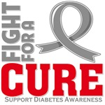 Diabetes Fight For A Cure Shirts