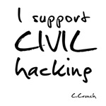 I support civil hacking
