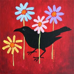 Crow & Daisies