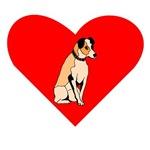 Parson Russell Terrier Heart