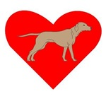 Rhodesian Ridgeback Heart