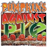 Pumpkins Against Pie