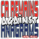 CA Remains Against Anagrams [SWAG]