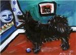 SWEDISH LAPPHUND whimsical dog art