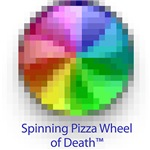 Spinning Pizza Wheel of Death
