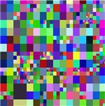 Pixelated, colorful or B&W