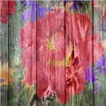 wooden art-flowers