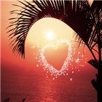 romance on the beach,