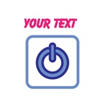 YOUR TEXT-symbol