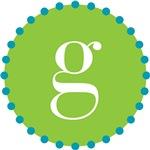 g monogram, lime