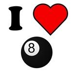 I Heart Eight Ball