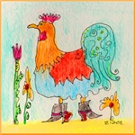 Ms. O The Rooster