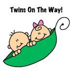 Pea Pod Twins on the Way