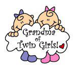 Grandma of Twin Girls