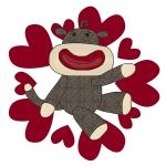 Sock Monkey Love T-shirts and Gifts