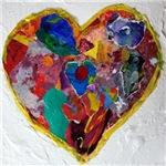 Newtown Paper Art Hearts