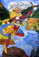 The Great Tibetan Snow Lion