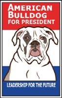 American Bulldog for President