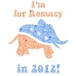 I'm for Romney in 2012